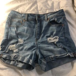 Light denim shorts from Aeropostale in size 8